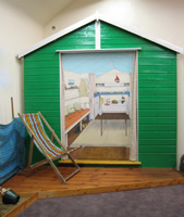 Beach Hut at Mersea Museum