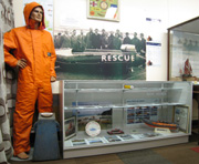 West Mersea Lifeboat display in Mersea Museum 2008