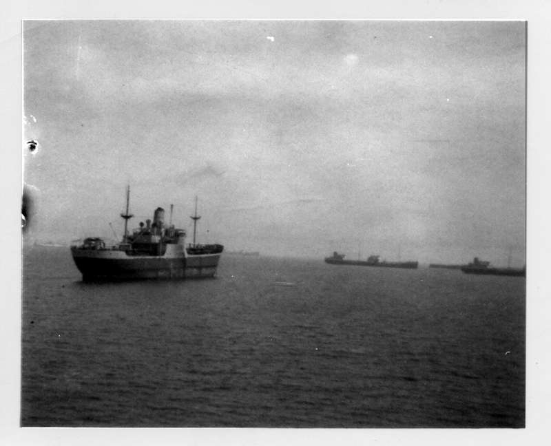 MARKLAND laid up in the River Blackwater Date: c1963.