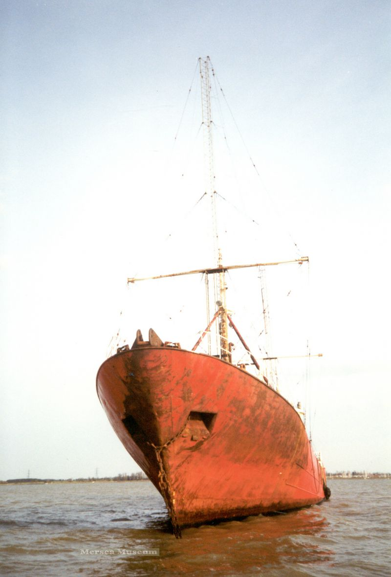 ROSS REVENGE laid up in the River Blackwater