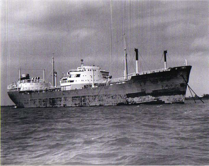 SUHAIL laid up in the River Blackwater. Date: c1962.