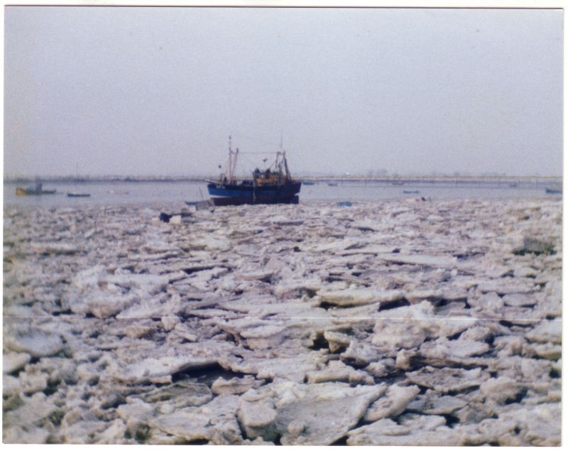 An icy winter. Thought to be late 1980s.
