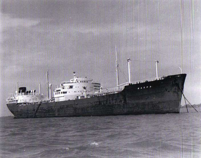 MAGWA in the River Blackwater Date: 25 March 1960.