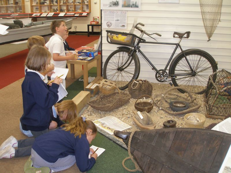 Wentworth Primary School Maldon visit to Mersea Museum.