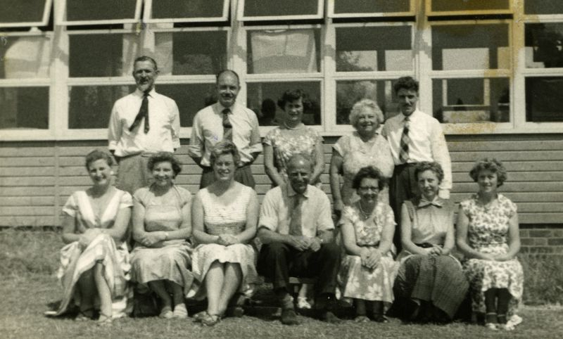 West Mersea School Staff.