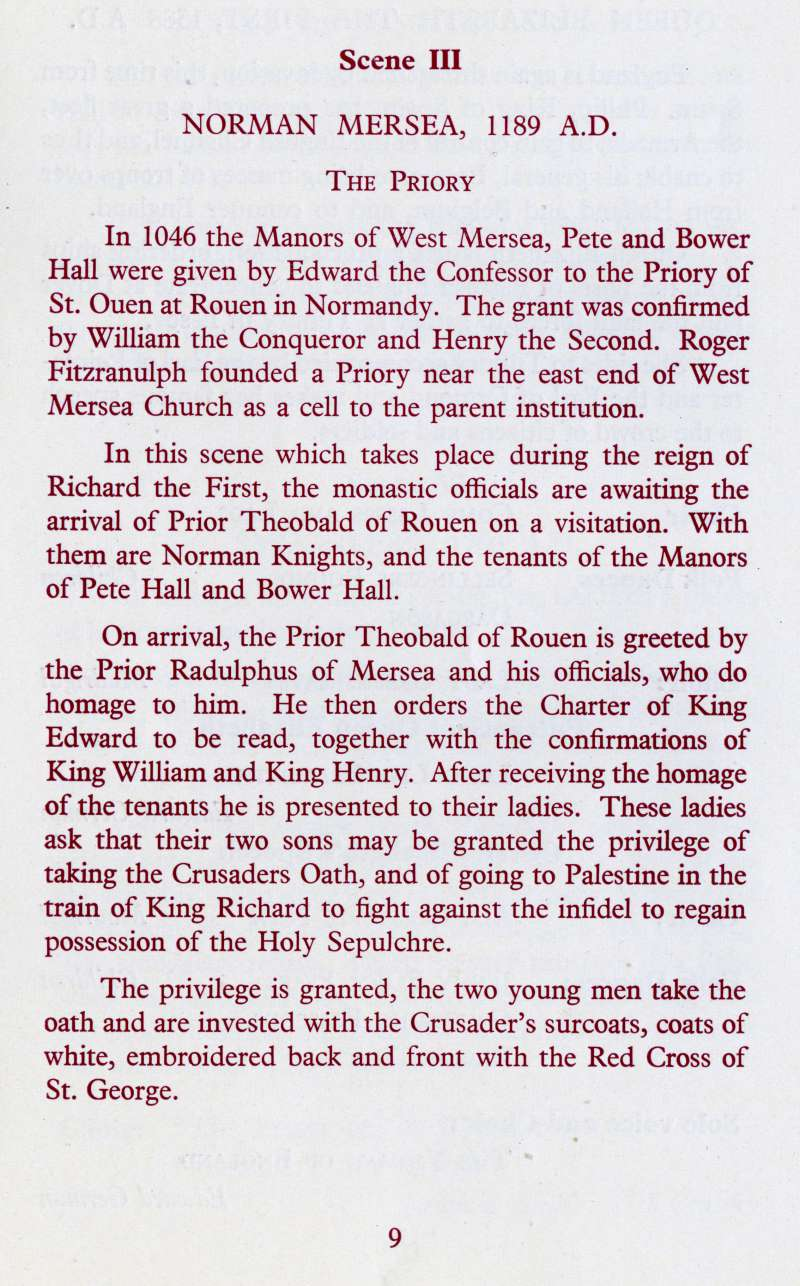 West Mersea Coronation Celebrations page 9.