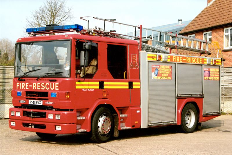 1998 Dennis Sabre Fire Appliance