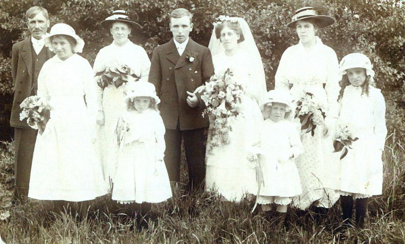 Wedding Mole family. 