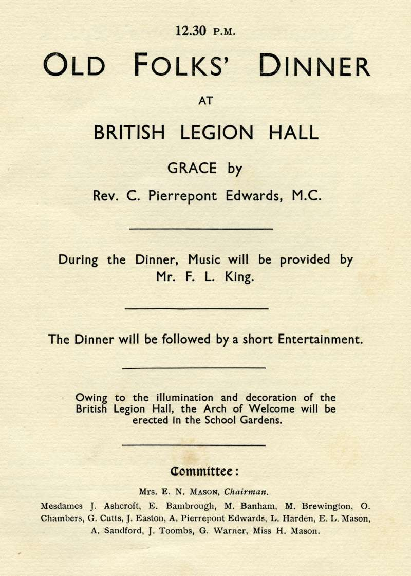 Silver Jubilee Celebrations. West Mersea.