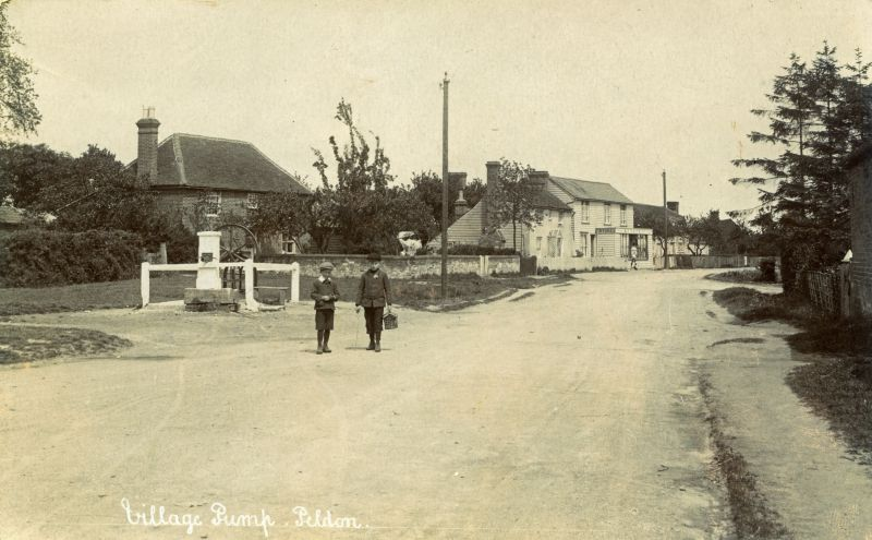 Village Pump, Peldon c1911