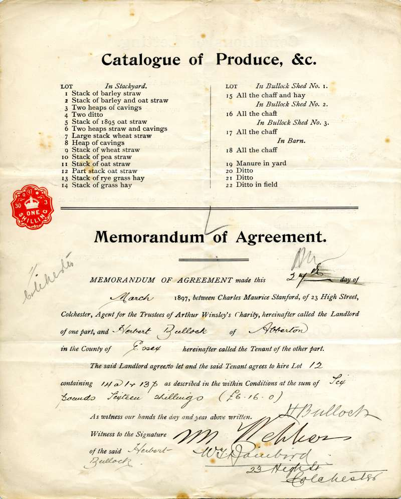Bocking Hall Farm, West Mersea, to be let by Auction. Page 4 of 4. 