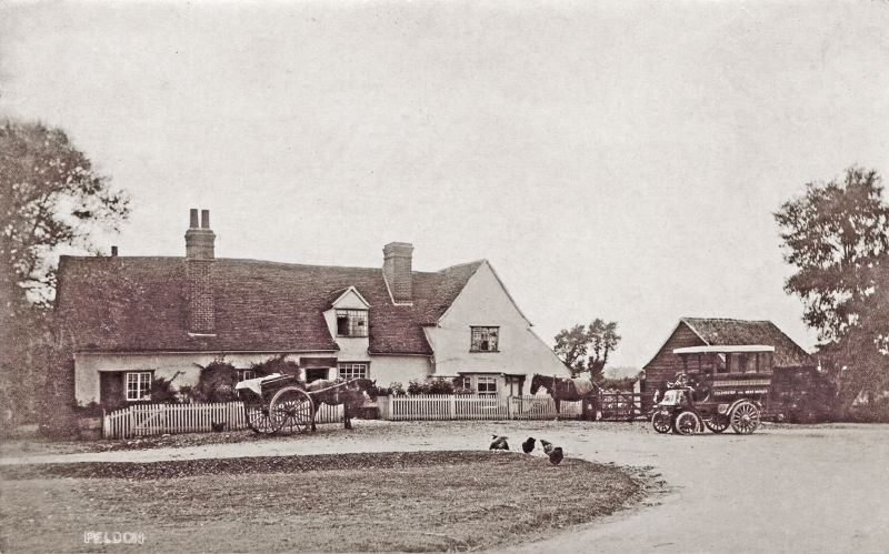 Berry's bus at Peldon Rose 1905