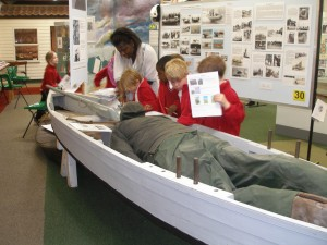 New Hall Preparatory School visit to Mersea Museum and Church.