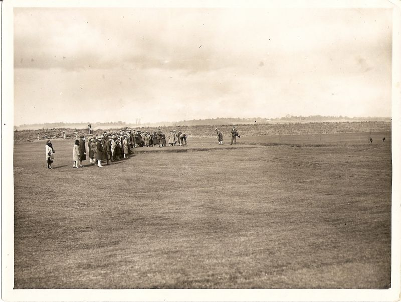 Opening of the new Mersea Golf Club.