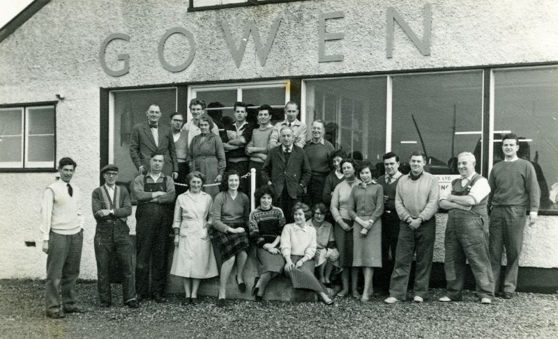 Gowens at West Mersea in the early or mid 1960s. 