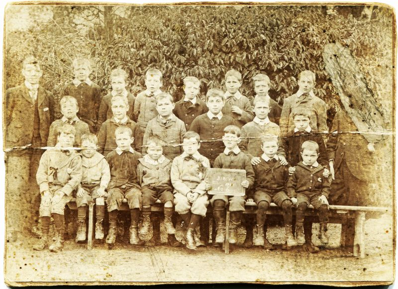 Birch School No.6. 1900. 