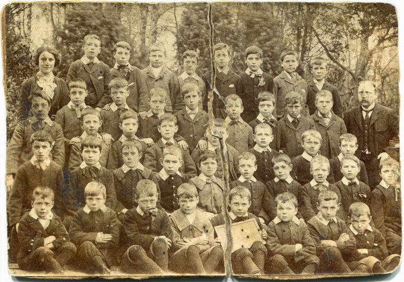 Birch School in 1903. 