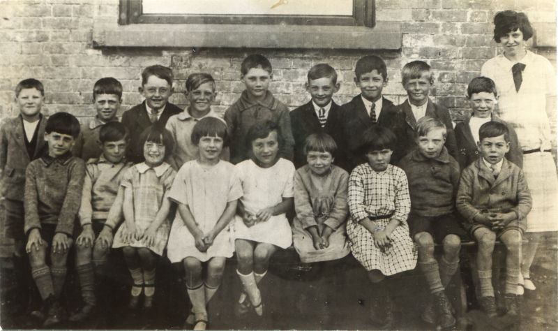 Birch School 1927 or 1928.