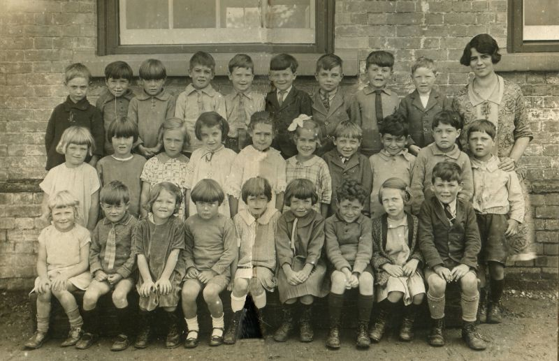 Birch School. 1920s.