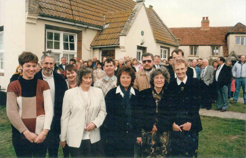 Salcott - the opening of the Village Hall in 1996.