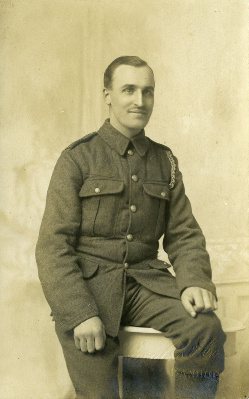 Hugh Smith was injured at Gallipoli and he recovered - but he would not see the end of the War.