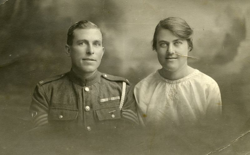 Emmie and Tom (David John) Clarry.