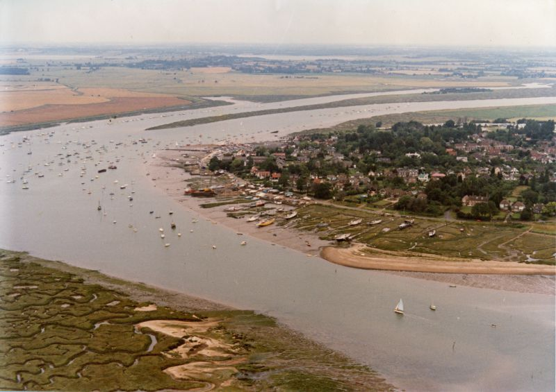 Coast Road and the Hard, West Mersea. 1970s ? 