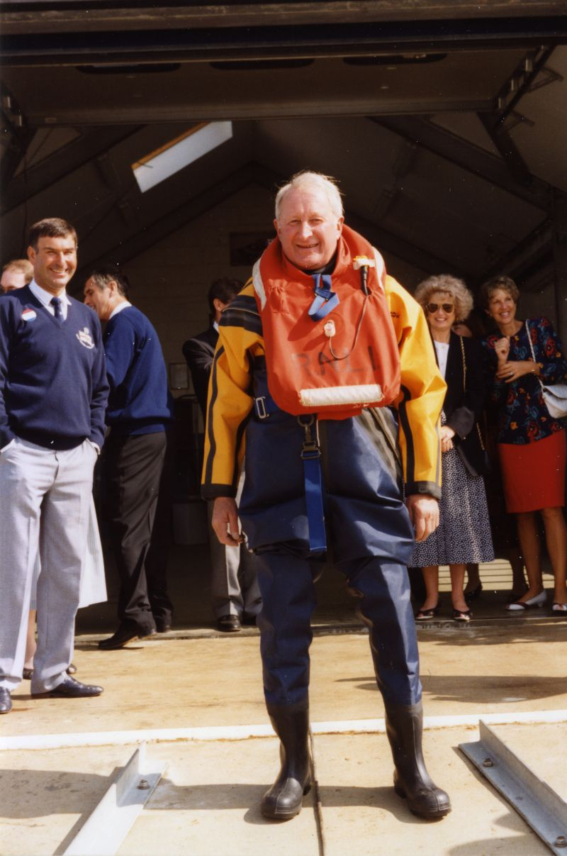 West Mersea Lifeboat new boathouse opening - Diggle Haward. 