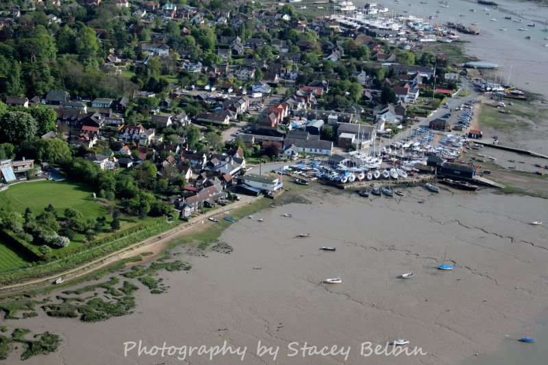 The Hard. Dabchicks Sailing Club and Lifeboat Station.