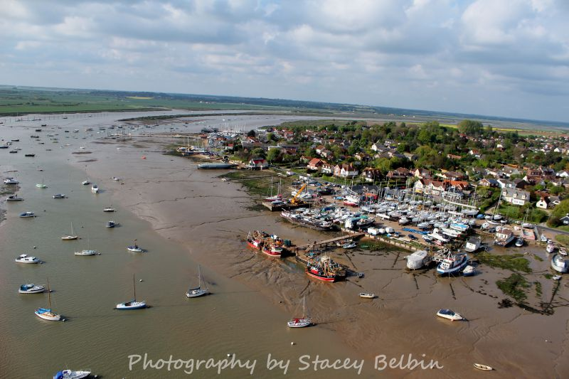 Fishing boats at Burma Road with Coast Road and Victory beyond.