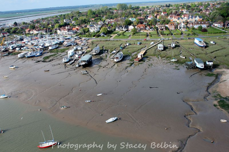 Houseboats and Coast Road. Burma Road and Victory on the left.