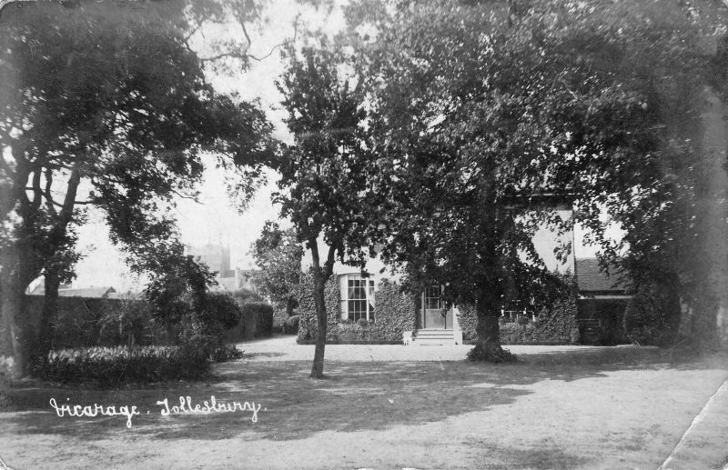Vicarage, Tollesbury. Postcard though to be by Hammond. 