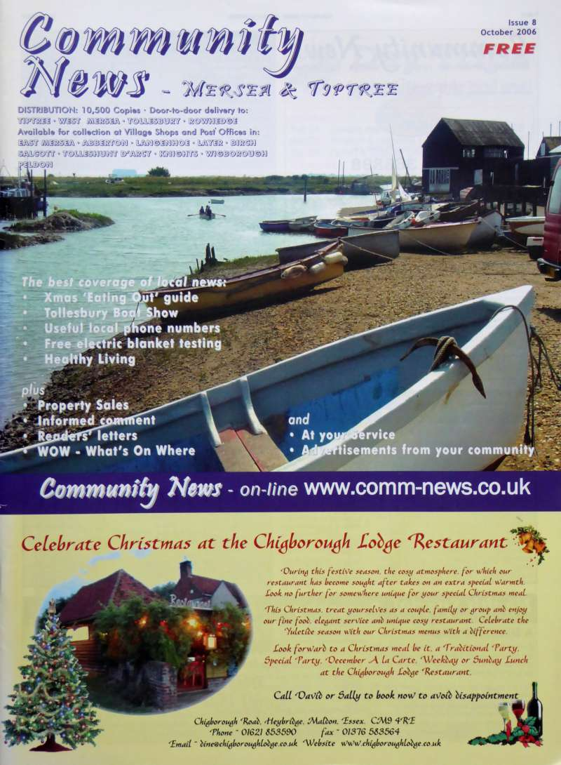 Community News - Mersea & Tiptree. Issue 8. 