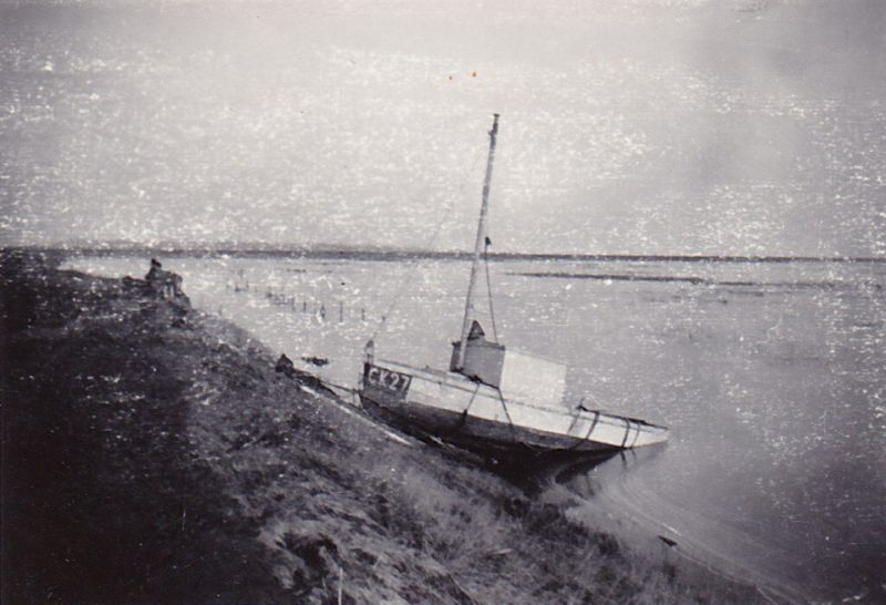 Taken after the 1953 flood. CK27. 