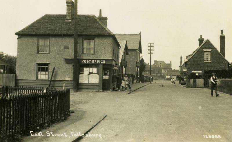 East Street, Tollesbury. Postcard 126383.