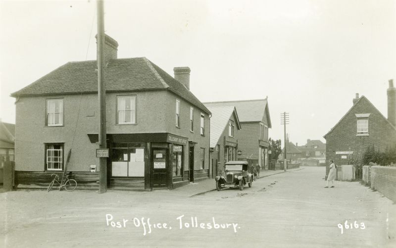 Post Office, Tollesbury. Postcard 96163. 