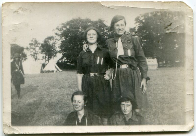 1st Mersea Guides. Althorne Camp.