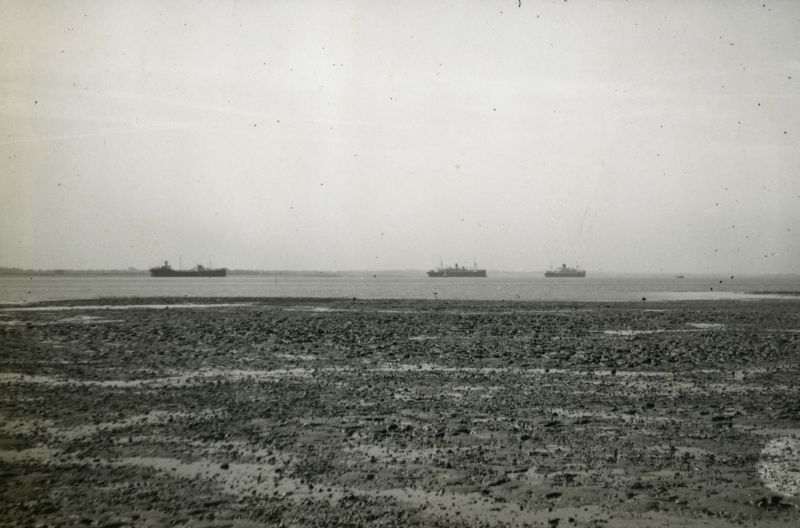 Laid up ships in River Blackwater.