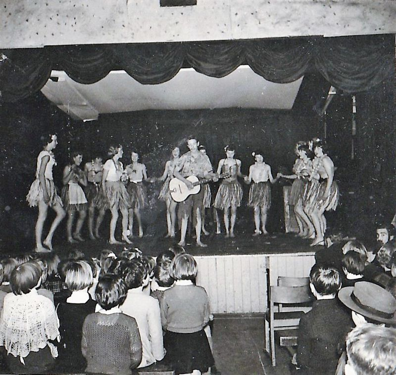 1958 - 1959 West Mersea School Concert at the British Legion.
