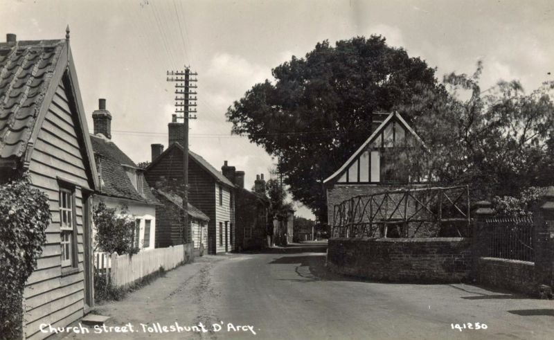 Church Street, Tolleshunt D'Arcy. Postcard 141250. 