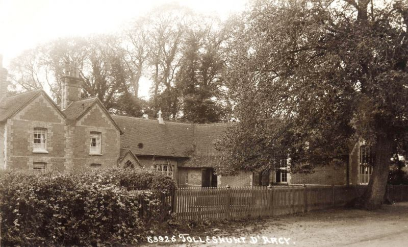 Tolleshunt D'Arcy School. Postcard 63926. 