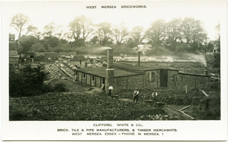 West Mersea Brickworks.
