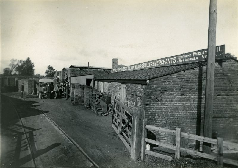 Clifford White & Co. Brick, pipe and tile makers, builders merchants.