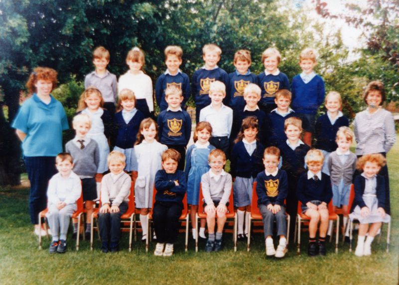 West Mersea School group.