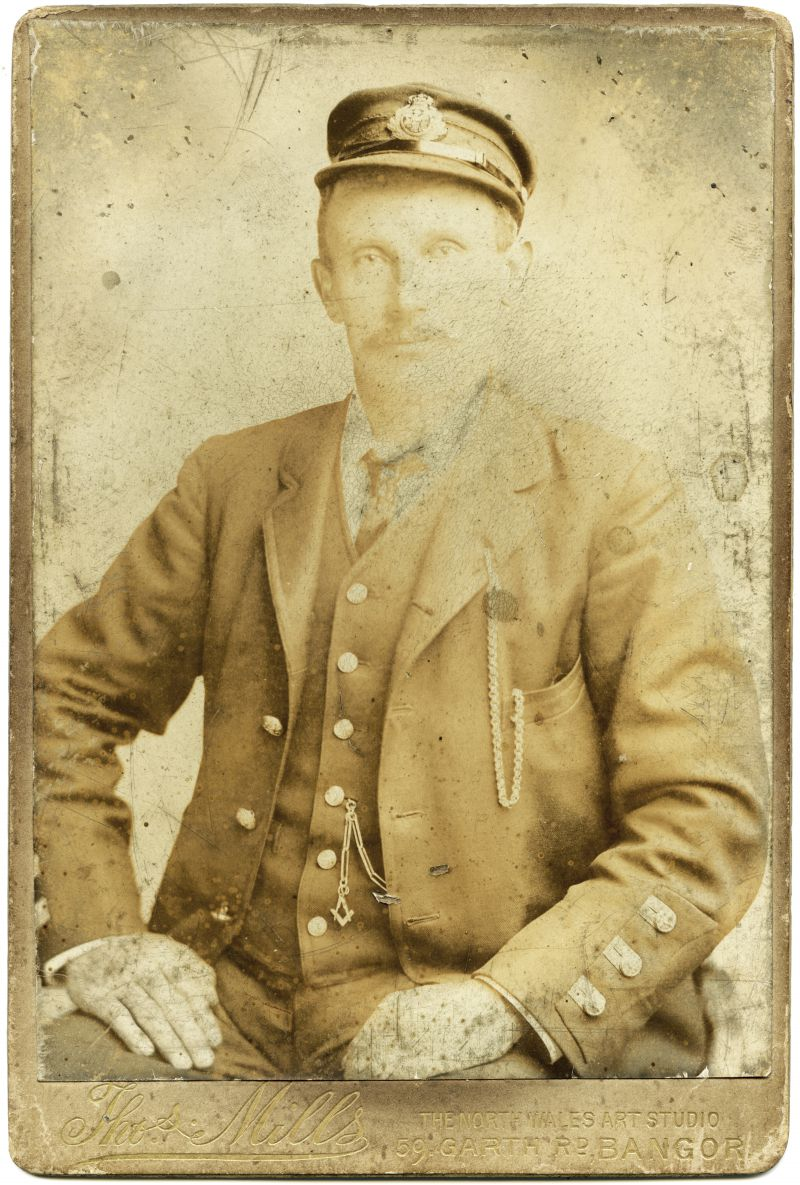 Captain William Frost, Albany Villa, Tollesbury.