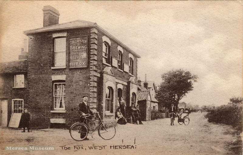 The Fox, West Mersea c1910