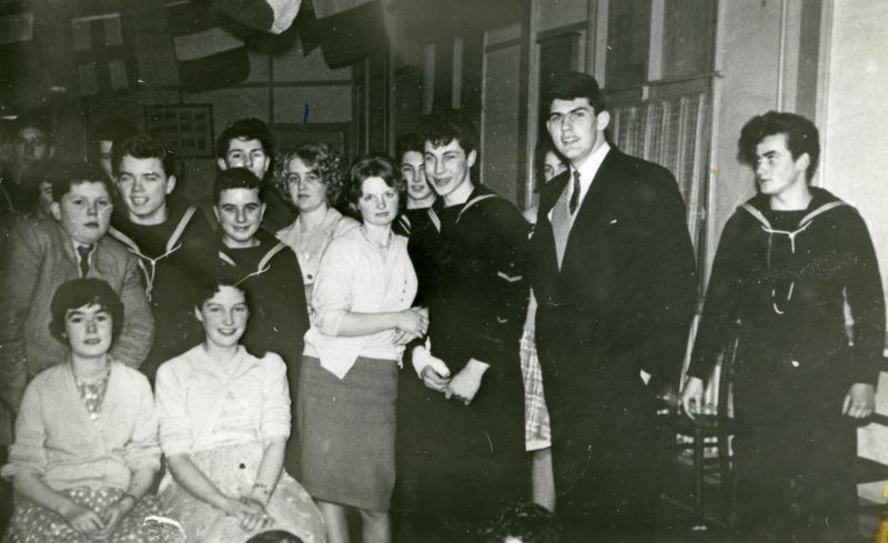 Sea Cadets Party in the Legion Hall.