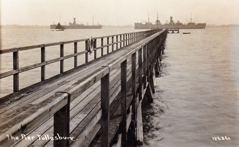 The Pier, Tollesbury. Postcard 126361.