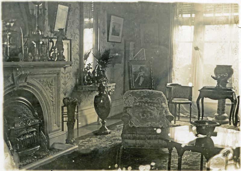 Inside Great Wigborough Rectory. 