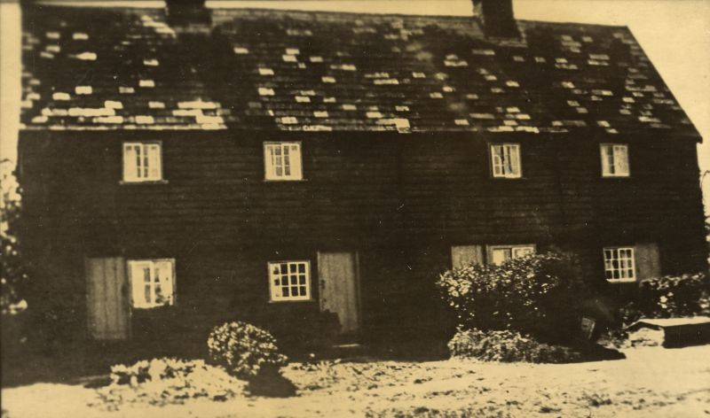 Cottage far end of Birch Green, inside Caper Lane.